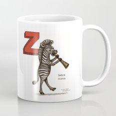 Animals & Instruments ABCs – Z Coffee Mug