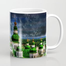 Domes of Trinity Cathedral, Chernigov, Ukraine Coffee Mug