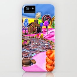 Pink Candyland iPhone Case