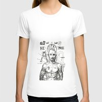 tupac T-shirts featuring Tupac: On the 3rd day HE ROSE A G. by Maddison Bond