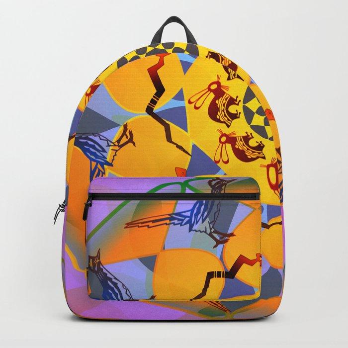 Animal Mandala Backpack