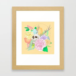 Fancy Grave Framed Art Print