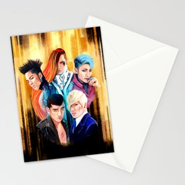 Fantastic Five Stationery Cards