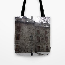 Old Montreal Stone Architecture Tote Bag