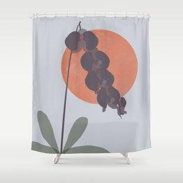 Purple Orchid Dreams Shower Curtain