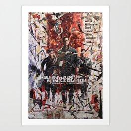 Senza Gloria Art Print