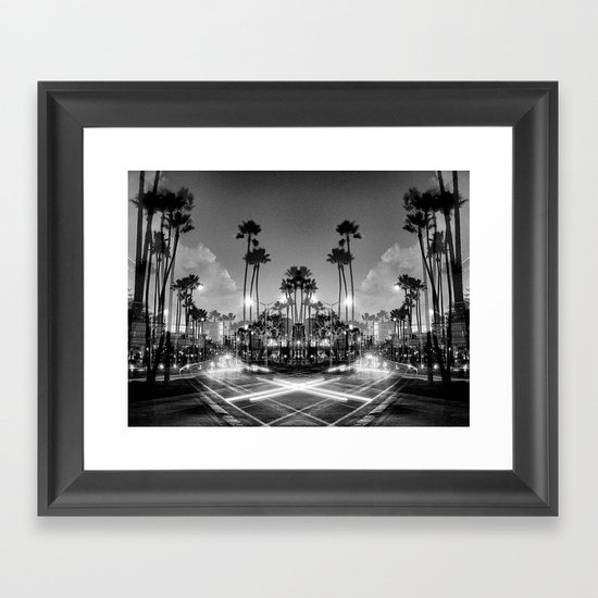 X marks the Spot Framed Art Print