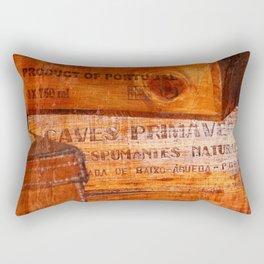 Wine crates Rectangular Pillow