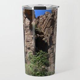 Organ Pipes At Bonita Canyon Travel Mug
