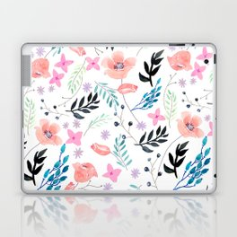 Sweet Floral Watercolor Laptop & iPad Skin