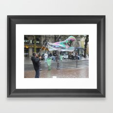 The Bubble Master Framed Art Print