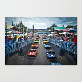 Tomorrowland Speedway Canvas Print