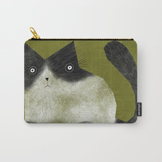 BRISTLE CAT Carry-All Pouch
