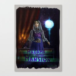 Madame Of The Mansion by Topher Adam 2018 Canvas Print