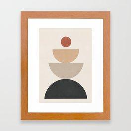 Geometric Modern Art 31 Framed Art Print