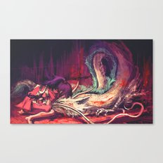 Bleed Canvas Print