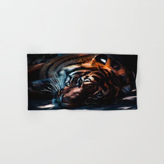 tiger Hand & Bath Towel