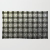 mosaic Area & Throw Rugs featuring Mosaic by David Zydd