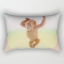 Save the Orangutan - Endangered Species 6 Rectangular Pillow