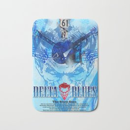 Delta Blues Bath Mat