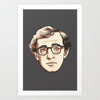 woody Art Prints featuring Woody by Aaron Scamihorn