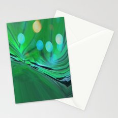 Moons Rise Over Triton Stationery Cards