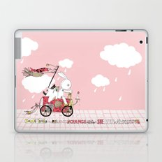 Runs away Laptop & iPad Skin