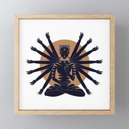 Zen Framed Mini Art Print