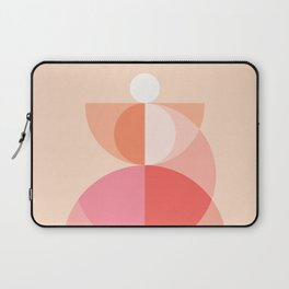 Abstraction_Geometric_Circles_MInimalism_001 Laptop Sleeve