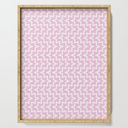 Sea Urchin - Light Pink & White #320 Serving Tray