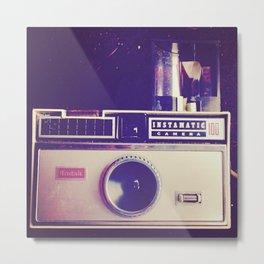 Kodak Instamatic 100 Metal Print