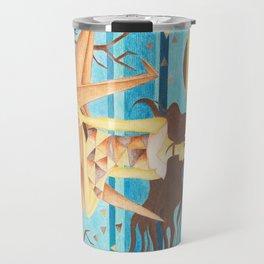 Crane Girl Travel Mug