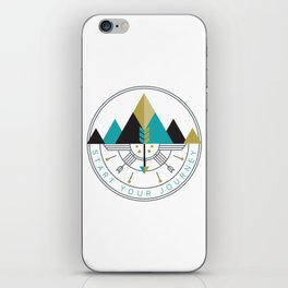 Start Your Journey Badge iPhone Skin