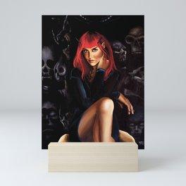 Shall we Talk? Mini Art Print