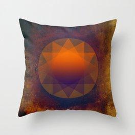 Merkaba, Abstract Geometric Shapes Throw Pillow