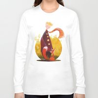 le petit prince Long Sleeve T-shirts featuring Le Petit Prince by Federica Fabbian
