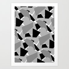 Little Mess Art Print