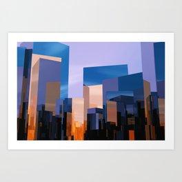 Q-City One Art Print