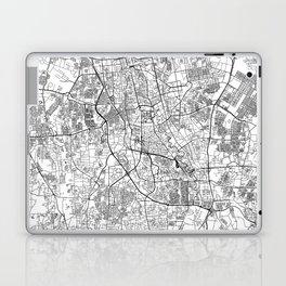 Jakarta White Map Laptop & iPad Skin