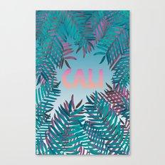 CALI VIBES Canvas Print