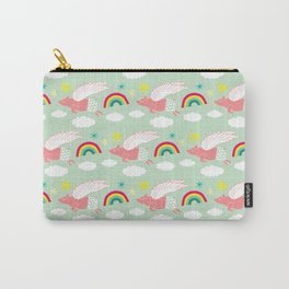 Pigs Can Fly! Carry-All Pouch