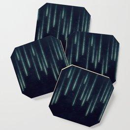 Nerd binary code Coaster