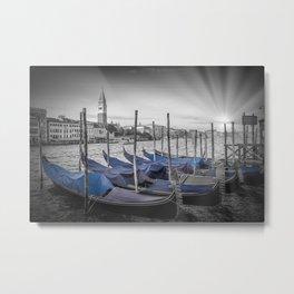 VENICE Idyllic Grand Canal Metal Print