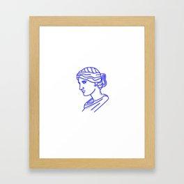 Antiquity or Bust Framed Art Print
