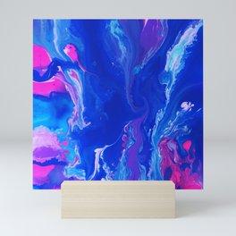 Into the blue Mini Art Print
