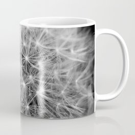 Dandelion flower head composed of numerous small florets Coffee Mug