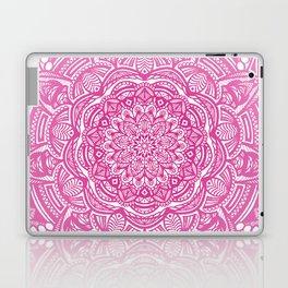 Pink Magenta Detailed Ethnic Eclectic Mandala Mandalas Laptop & iPad Skin