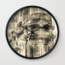 The Cockpit Pub London Vintage Wall Clock