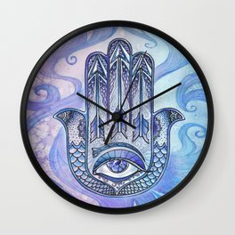 Hand of Fatima Wall Clock