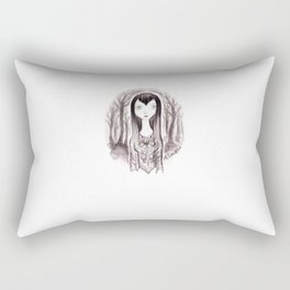 Vamp Girl Rectangular Pillow